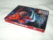 Blu Ray Movie Steelbook Big Hero 6 3D & 2D