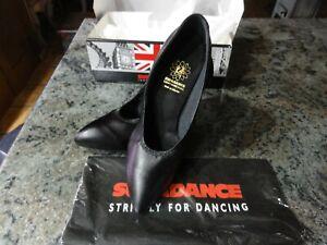 Supadance 1001 Reg BLACK LEATHER Heel Height 2.5 Slim wedding Ballroom SHOE