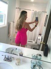 Hot Pink Romper - NEW