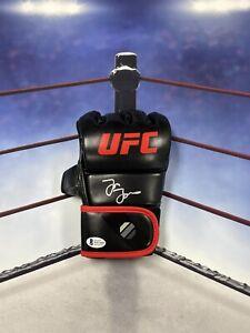 JON BONES JONES SIGNED AUTOGRAPH UFC GLOVE BECKETT COA MMA CHAMP
