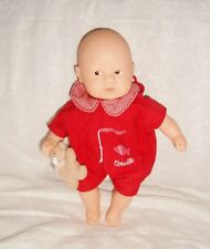 Mini Calin Corolle Dolls 20cm 1999 Oscar tenue rouge avec doudou