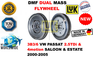 FOR 3B3/6 VW PASSAT 2.5TDi & 4motion 2000-2005 NEW DUAL MASS DMF FLYWHEEL