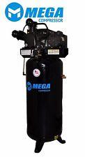Compresor de Aire 5HP de 60 Galones de 1 Etapa Monofásico 18.2 CFM Envío Gratis