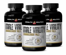 Testosterone level - MALE VIRILITY ENHANCEMENT - Tribulus plant Androgen - 3B