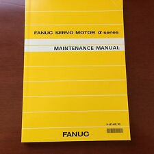 Fanuc AC Servo Motor Alpha Series Maintenance Manual