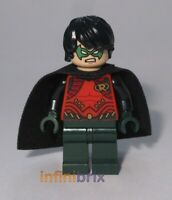 Lego Robin Minifigure from Set 76034 Batman Super Heroes NEW sh195