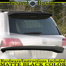 Toyota Land Cruiser 2008-2016 MATTE BLACK Factory Style Roof Top Spoiler Wing