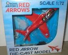 BAe HAWK the RED ARROWS, RAF Scampton 2016, PILOTS, WHEELS & STAND.1/72 diecast