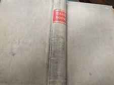 Antique Ledger 1950s York Accounts Cash Book Hand Written Corn Merchants Vintage