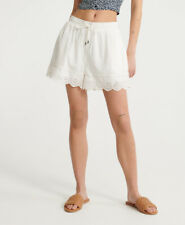Superdry Womens Lace Broderie Shorts