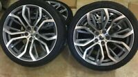 20 pouce roues ensemble + pneus d'été pour BMW X5 E53 E70 F15 X6 E71 F16 375 sty