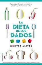 La dieta de los dados (Spanish Edition), Montse Alives, Good Condition, Book
