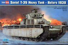 Hobby Boss WWII Soviet T-35 Heavy Tank Model Kit 1/35