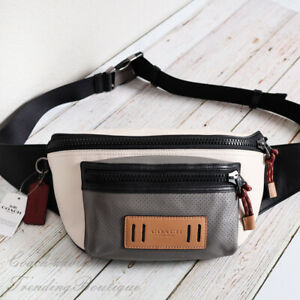 NWT Coach 2663 Terrain Leather Belt Bag Fanny Pack in Colorblock