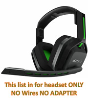 ASTRO A20  Gaming Wireless Headset for Xbox One, PC & Mac - Black/Green