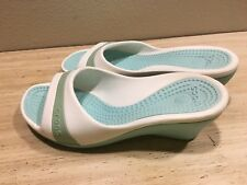 Crocs Women Slip On Wedges Size 9 Shoes
