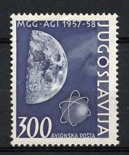 Yugoslavia 1958 SG#914 Geophysical Year Moon MNH Cat £10.50 #A62700