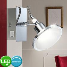 LED Wand Leuchte ALU Strahler TOUCH DIMMER Wohn Zimmer Spot Lampe verstellbar