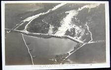 CANADA~1920 OTTAWA ONT. ~ AIRPLANE VIEW OF HOG'S BACK~RIDEAU RIVER ~ RPPC