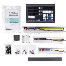 Fivetecnc DRO 3 Axis digital readout with 3 pcs 50-1020mm 5micron linear scale