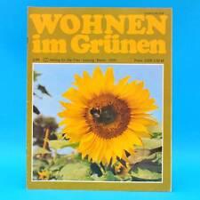 DDR Wohnen im Grünen 2/1984 Verlag für die Frau J Großposna-Oberholz Wernigerode