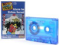 TKKG 10  Alarm im Zirkus Sarani Hörspiel  MC blau Kassette Europa