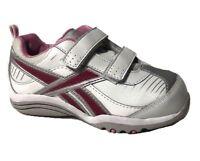 Reebok Versa Pace of Play Girls Toddler Shoes Sneakers Hook & loop Closure