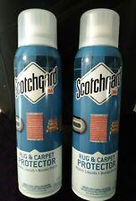 Scotchgard Rug & Carpet Protector Repels Liquids Blocks Stains 17 oz 2 CANS