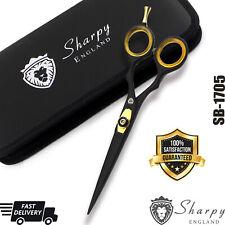 "Professional Hair Cutting Scissors Barber Shears Hairdressing 6.0"" Black & Kit"