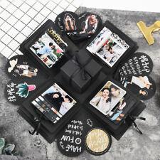 Explosion Box Scrapbooking DIY Photo Album Wedding Birthday Valentine'sDay GiftH
