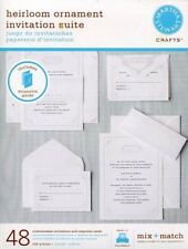 Martha Stewart - Heirloom Ornament Invitation Suite (M972202)
