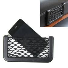 1x New Auto Car Interior Body Edge Elastic Net Storage Phone Holder Accessories