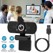 1080P HD Web Camera with Microphone for Conferencing Video Calling Easy Set