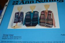 Ann Norling Knitting Pattern Scrap Vest #1