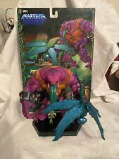 Neca Toys MOTU Masters of the Universe Tung Lashor Staction Mini Statue Horsemen