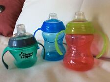 Two (2) Nuby Soft Spout, One (1) Tommy Tippee First Sips, Transition Cups