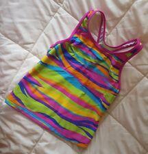 Sz 14 Speedo Girls Tankini swim beach pool Top -  gently used • cute