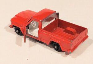 71-B2 Near EXC! Jeep Gladiator Lesney Matchbox circa '64