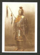 CARTE POSTALE INDIEN AMERIQUE  APSAROKE  CROW corbeau  CHEF DE GUERRE