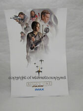 Original Star Wars Rogue One IMAX Week 3 Limited Edition Poster midnight special