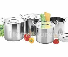 Unbranded Stainless Steel Saucepans & Stockpots