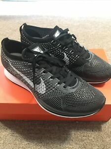 nike flyknit racer 526628-010 Size 9 Worm Once Maybe 2 Times