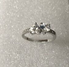 White Diamond 10KT White Gold Filled Jewellery Size 9