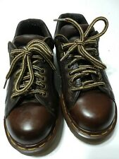 Dr Martens Made in England Vintage Brown Lace up Shoes Oxfords Uk 5 Us 6 6.5?