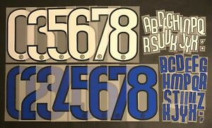 INTER LETTERE-NUMERI UFFICIALI 2009-2011 HOME/AWAY OFFICIAL NUMBERS/LETTERS