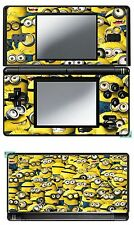 VINYL SKIN STICKER FOR NINTENDO DS LITE REF 44 DESPICABLE ME MIGNONS