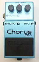 BOSS CE-3 Chorus Guitar Effects Pedal made in Japan MIJ 1986 #44 Free Shipping