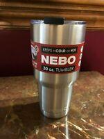 NEBO Tumbler Cup Mug Bottle Drink Beverage Travel  6551 30 oz Hot Cold Lid Camp
