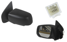 ISUZU D-MAX 7/2012-10/2016 DOOR MIRROR BLACK  LEFT HAND SIDE W/LAMP
