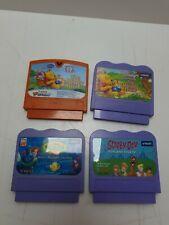 Paquete De 4 Juegos Cartuchos V. Smile. Scooby Doo, 2 xwinniethepooh, Sirena